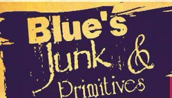 Blue's Junk & Primitives-Creal Springs Logo